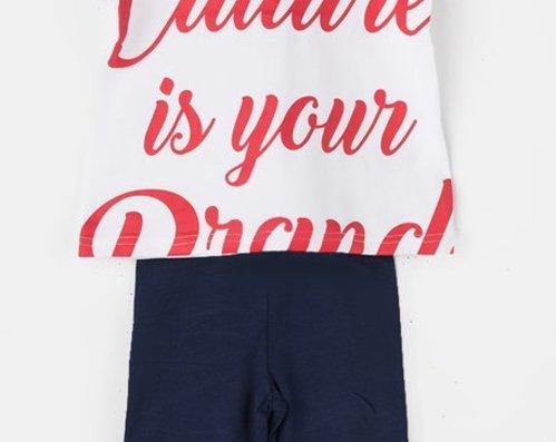 caa42003223 Комплект от Тениска и Клин Strawberry - Aygey .