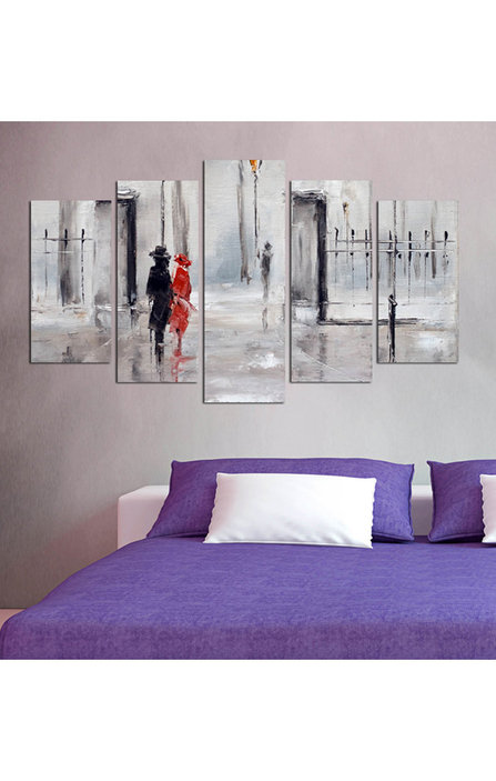 Two Silhouettes Photo Print-Charm