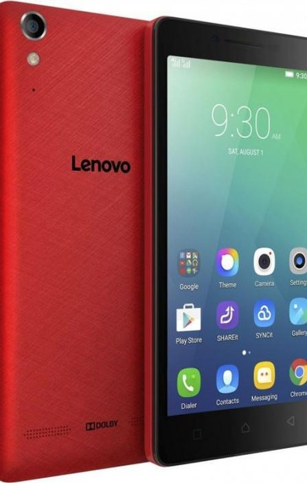 Смартфон LENOVO A6000 DS LTE RED /2WRO