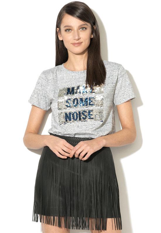 f7559a76bea Тениска с двулицеви пайети-Pepe Jeans London .