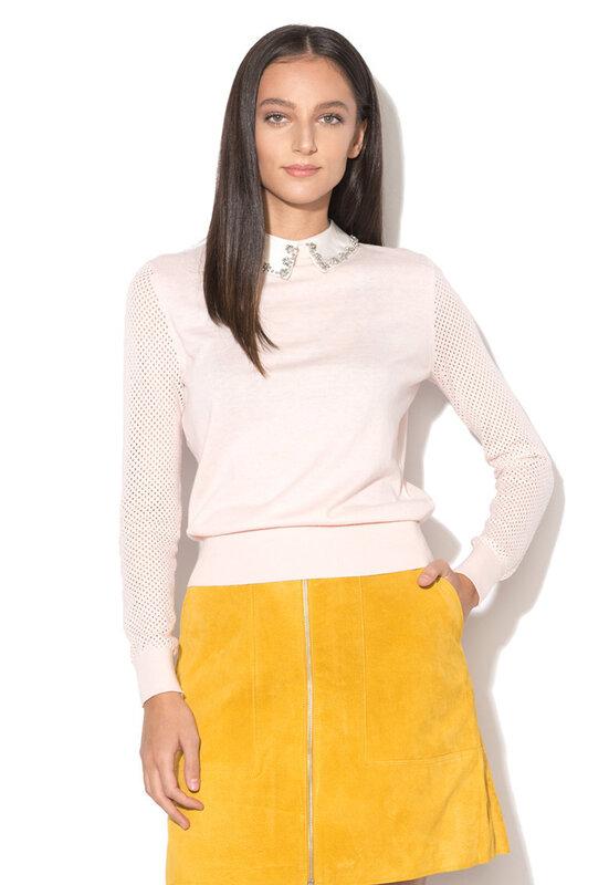 Пуловер Braydey с яка челси-Ted Baker