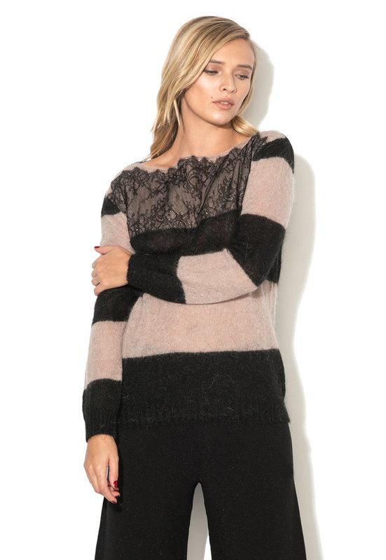 Раиран пуловер с дантела-Liu Jo