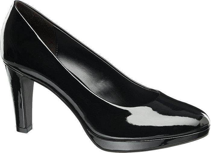 Дамски Обувки с Каишка и Висок ток-Graceland 1170