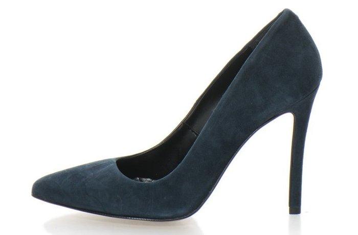 Дамски Велурени Обувки с Ток Стилето-Zee Lane